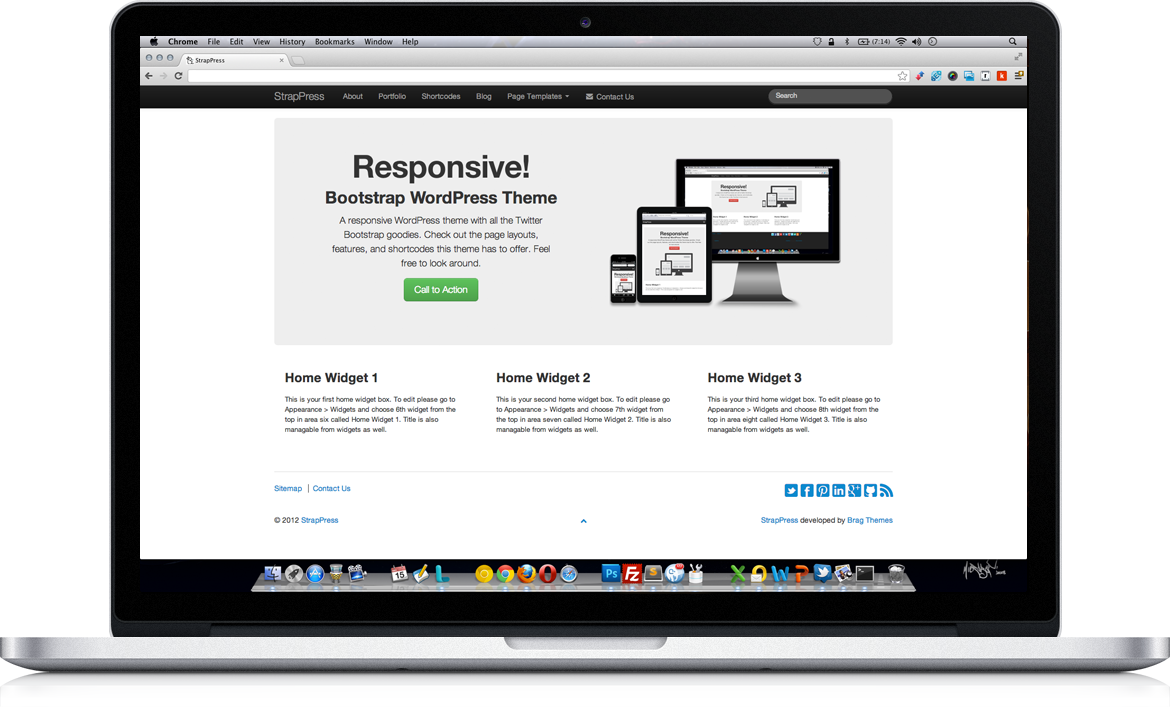 Excellent Wordpress Bootstrap 3 Themes Contemporary - Wordpress ...